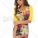 Rochie MissQ Longer Cut Yellow