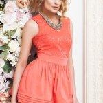 Rochie PrettyGirl Integrity Coral