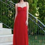 Rochie Daniella Cristea Iconic Glow Red