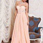 Rochie Ana Radu Golden Moments Peach