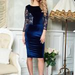 Rochie StarShinerS Theo Rose Perfection DarkBlue