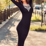 Rochie Linda negru