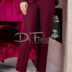 Pantaloni Bordo Satin