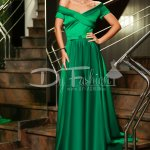 Rochie Brenda Lunga Verde de Seara