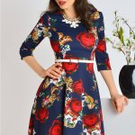 Rochie Floraly Roses