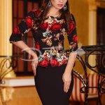 Rochie Inspiration Black Roses