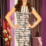 Rochie Lines Pale Roses