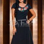 Rochie Maya Neagra de Zi Eleganta