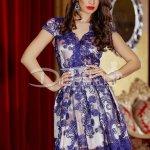 Rochie Ravisal Blue Beige