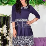 Rochie See Dark Blue Waves