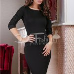 Rochie Simple Black Jerse