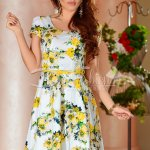 Rochie Springly Yellow Flowers