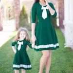 Rochii Mama Fiica – Set Emerald 217 Lei