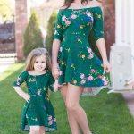 Rochii Mama Fiica – Set Flowers 150 Lei