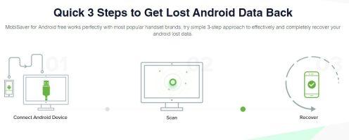 recuperare date smartphone Android