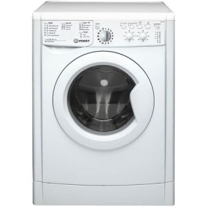 Masina de spalat rufe Indesit IWC 91082 ECO (EU), 9 kg, 1000 RPM, Clasa A++, Motor Inverter, EcoTime, Alb pret ieftin