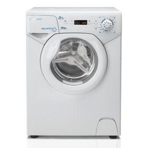 Masina de spalat rufe Slim Candy AQUA 1042D1, 4 Kg, 1000 RPM, Clasa A+, Display, 44 cm, Alb pret ieftin