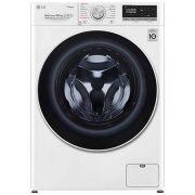 Masina de spalat rufe LG F4WV510S0, 10.5 kg, 1400 RPM, Clasa A+++, Motor AI Direct Drive Inverter, Steam, WiFi, Alb ieftina