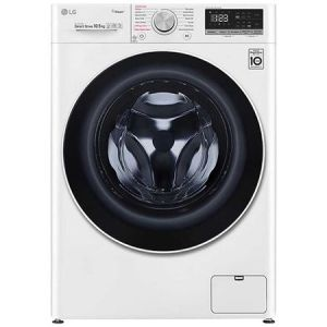 Masina de spalat rufe LG F4WV510S0, 10.5 kg, 1400 RPM, Clasa A+++, Motor AI Direct Drive Inverter, Steam, WiFi, Alb pret ieftin