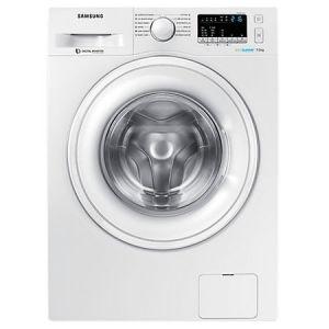 Masina de spalat rufe Slim Samsung WW70K42106W/LE, 7 kg, 1200 RPM, Clasa A+++, Eco Bubble, Motor Digital Inverter, Swirl Drum, Alb pret ieftin