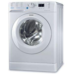 Masina de spalat rufe Slim Indesit INNEX, BWSA 61253 W EU, 6 kg, 1200 rpm, Clasa A+++, Alb pret ieftin