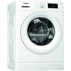 Masina de spalat rufe Whirlpool FreshCare FWG81284WEU, 8 kg, 1200 RPM, 6th Sense, Clasa A+++, Alb pret ieftin