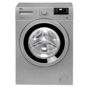 Masina de spalat rufe Slim Beko WRE6632ZSBS, 6 kg, 1200 RPM, Clasa A+++, Display LED, Argintiu pret ieftin