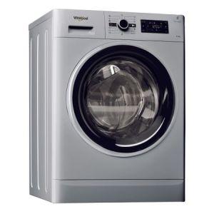 Masina de spalat rufe cu uscator Whirlpool FWDG96148SBS EU FreshCare+, 1400 RPM, 9 kg spalare, 6 kg uscare, Tehnologie al 6-lea Simt, Clasa A, Argintiu pret ieftin