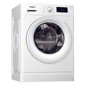 Masina de spalat rufe Whirlpool FreshCare+ FWG91484W EU, 6th Sense Colours, 9 kg, 1400 RPM, Clasa A+++, Alb pret ieftin