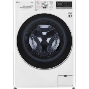Masina de spalat rufe LG F4WN609S1, 9 kg, 1400 RPM, Clasa A+++, Direct Drive, Turbo Wash, Steam, Smart Diagnoisis, WiFi, Alb pret ieftin