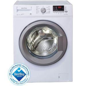 Masina de spalat rufe Slim Arctic APL81222XLW3, 8 kg, 1200 RPM, Clasa A+++, Display LED, Usa XL, Alb pret ieftin