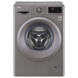 Masina de spalat rufe Slim LG F2J5WN7S, Direct Drive, 6.5 kg, 1200 RPM, Clasa A+++, 45 cm, Argintiu pret ieftin