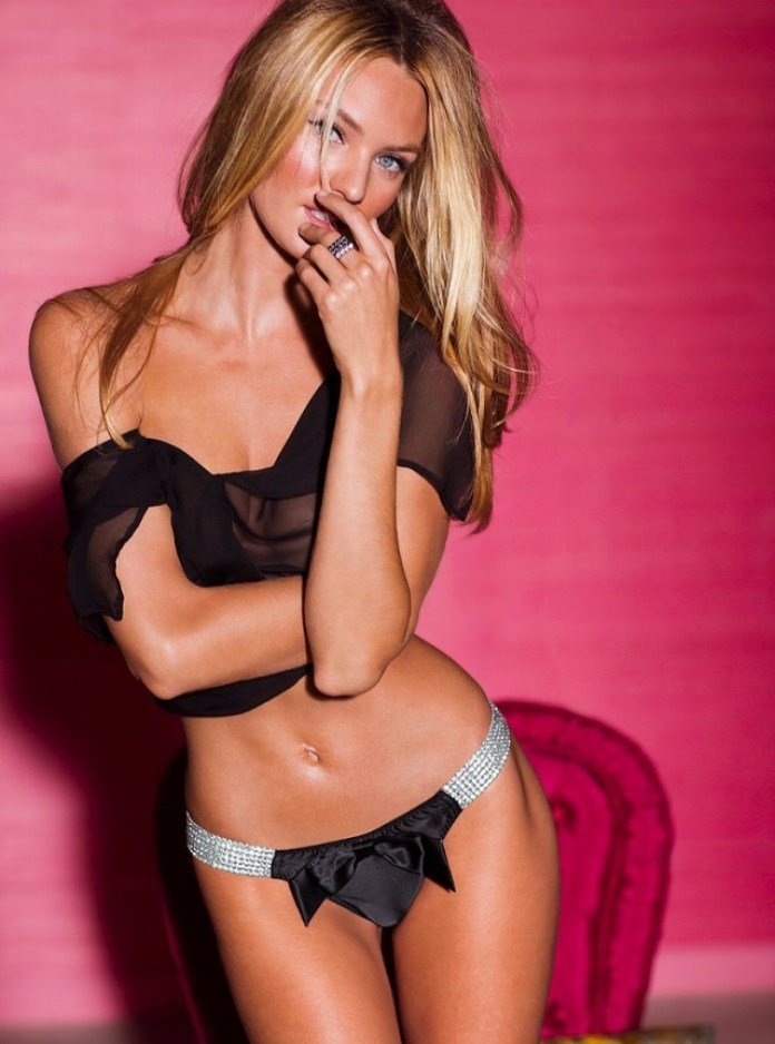 Candice Swanepoel Models Victoria's Secret January 2013