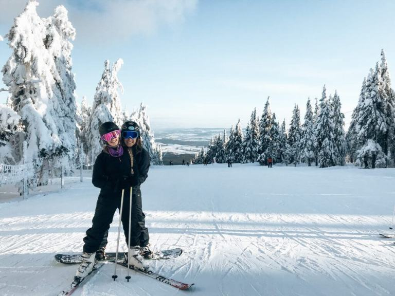 Skiing in Czech Republic   Red White Adventures