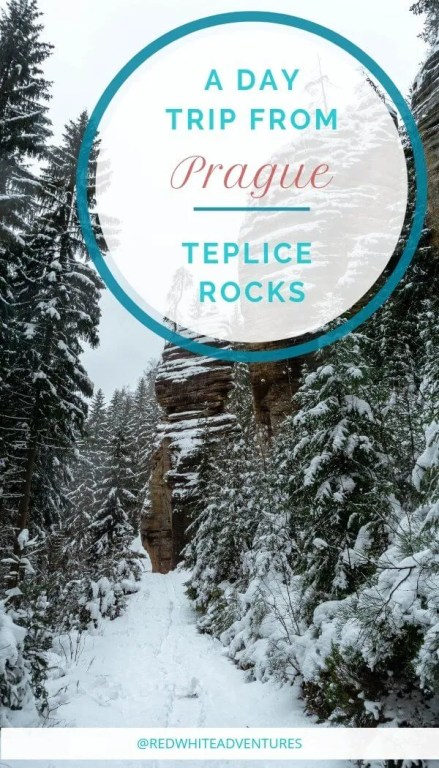 An awesome day trip from Prague is Teplice Rocks.