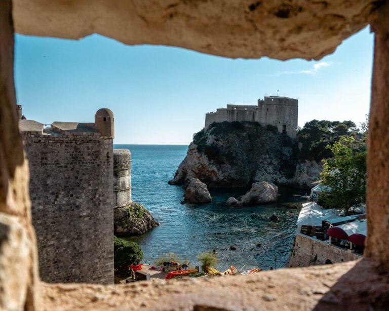 A view of Kings Landing in in Dubrovnik.
