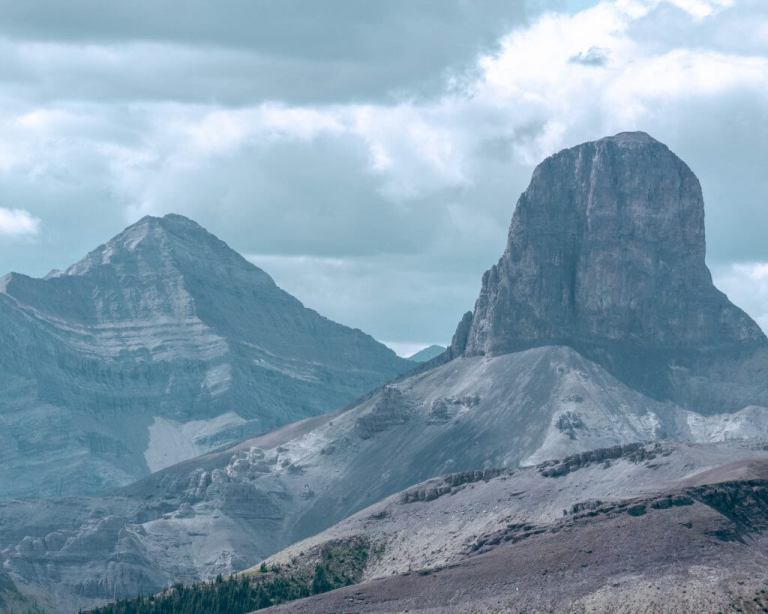 Black Rock Mountain in Alberta.