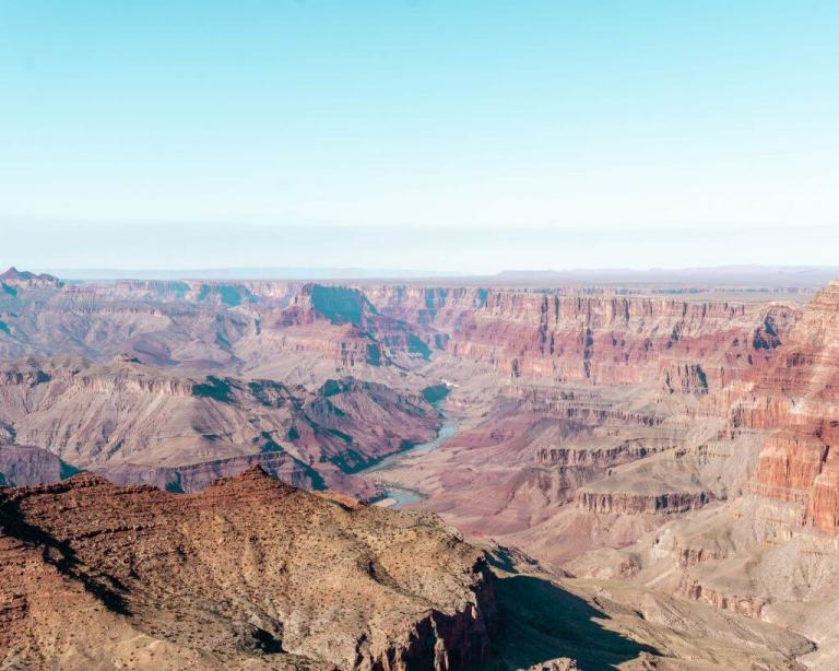 When you go from Flagstaff to Grand Canyon you'll be amazed by the views!