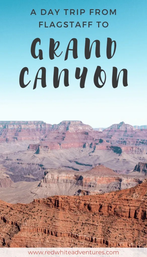 Pin for pinterest of the Grand Canyon
