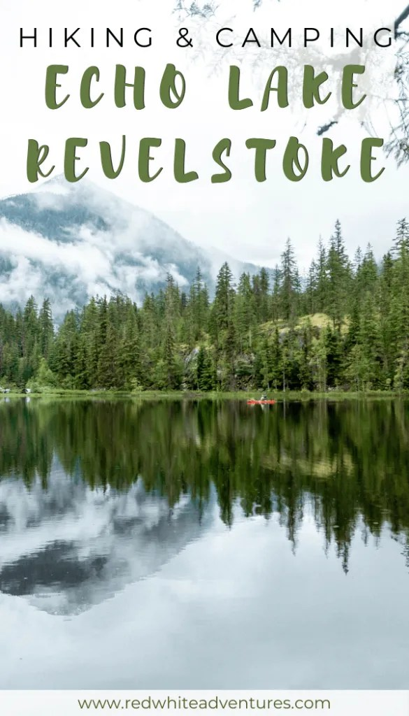 Echo Lake pin for Pinterest