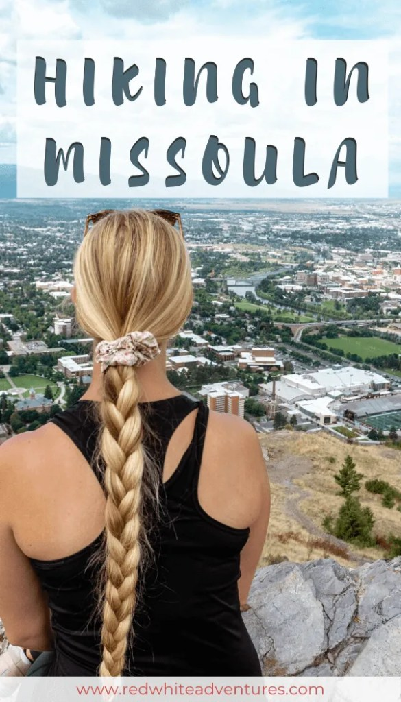 Pinterest pin for hiking in MIssoula.