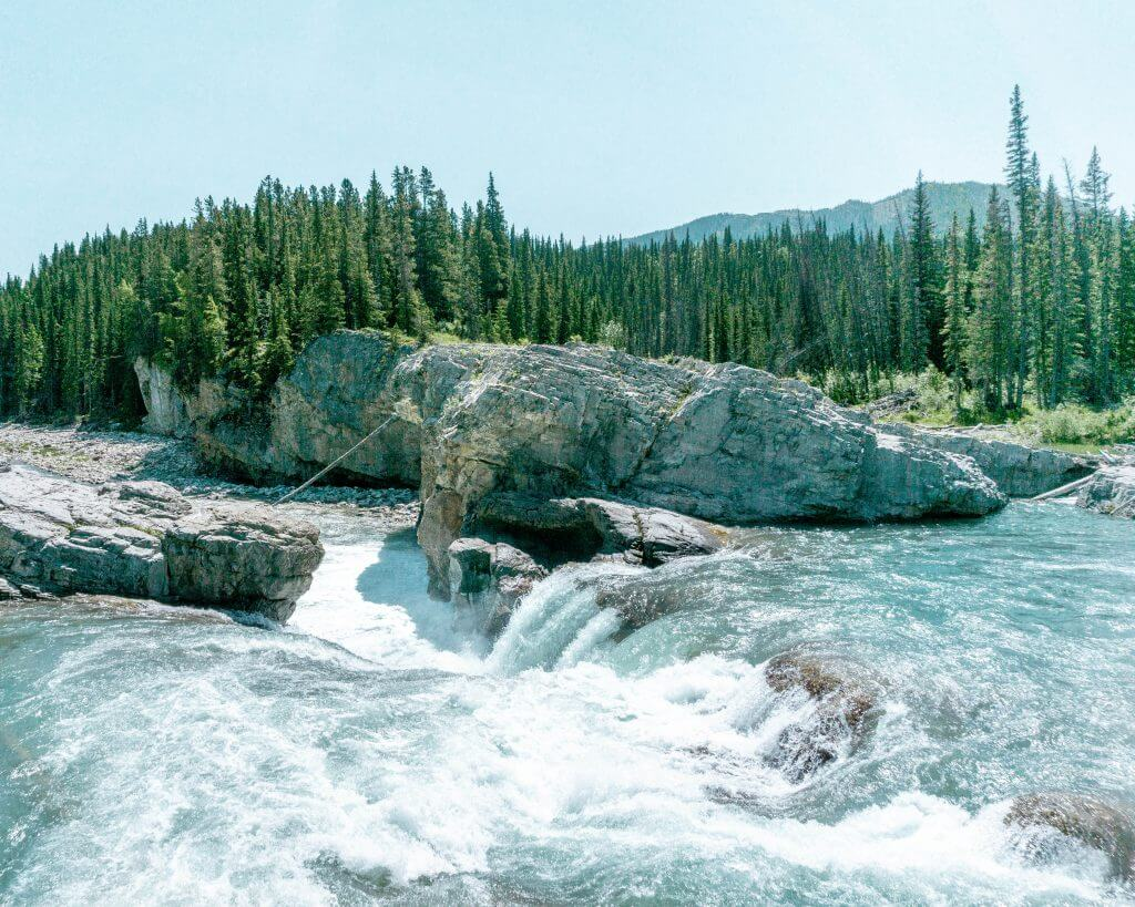 The mighty Elbow Falls hike near Bragg Creek