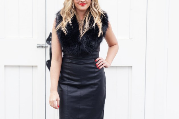 Ways to wear leather for the holidays
