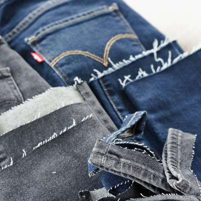DIY: How To Cut The Hem Off Jeans