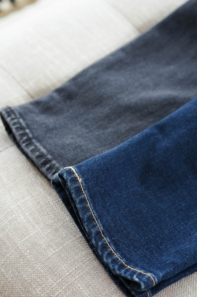 How to Cut the Hem Off Your Denim