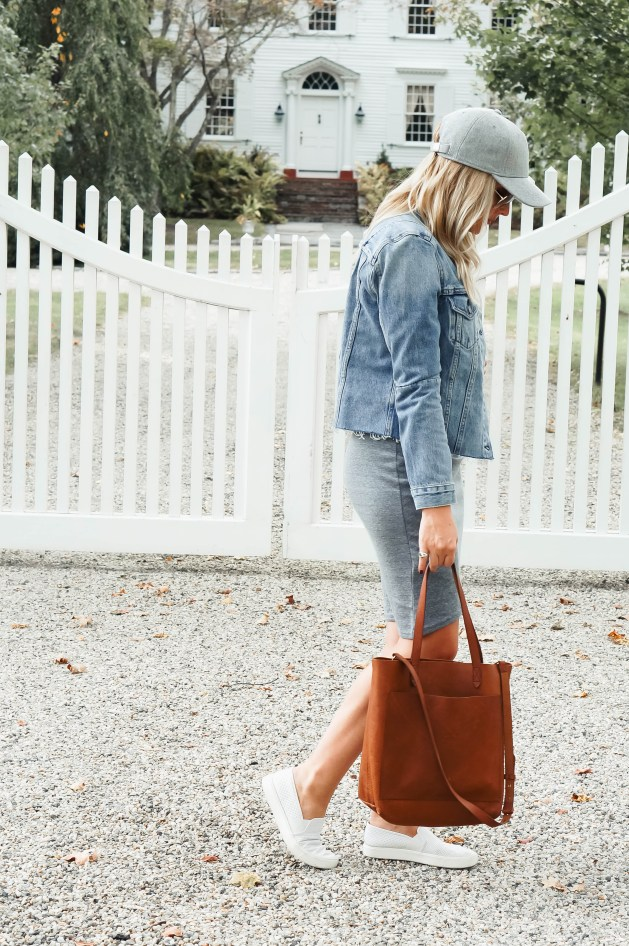 How to Style A Casual Dress for Fall