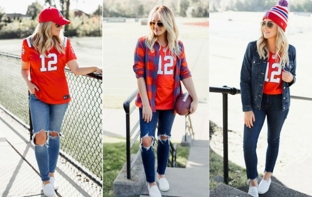 3 Ways To Style A Patriots Jersey