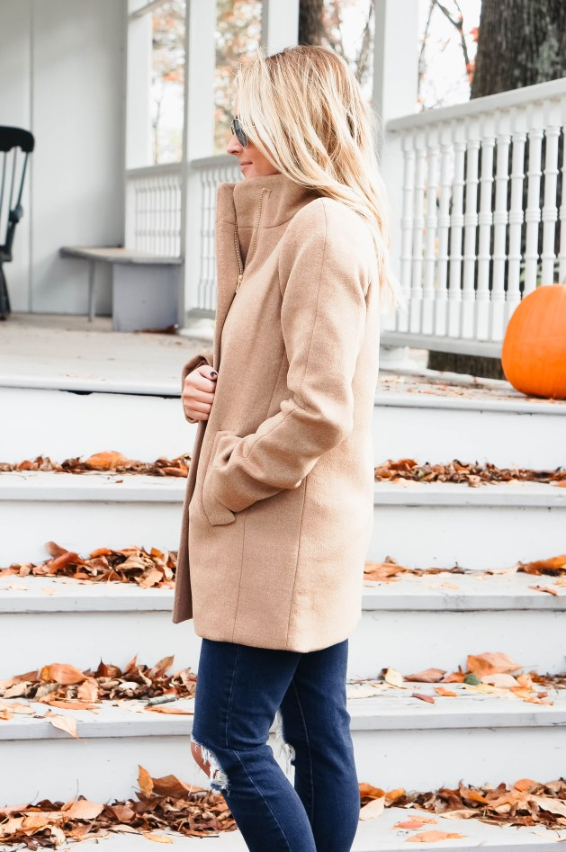 J Crew Factory Tan Jacket