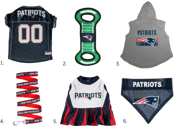 New England Patriots NFL Gear for Pets