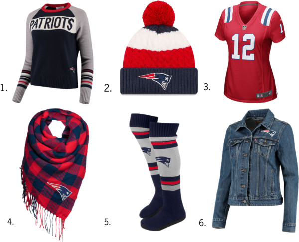 New England Patriots NFL Gear for Her